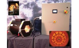 Roll-In-Place Infrared Heating System Serves as Rectangular Cure Chamber