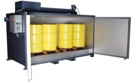 Oven Eliminates Need for Band Heaters