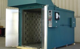 Walk-In Batch Oven Cures Elastomeric and Thermoplastic Parts