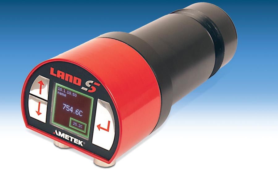 Infrared Thermometer Offers Enhanced Processing Capabilities