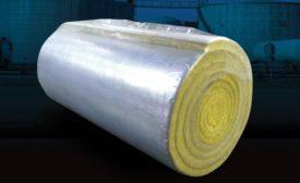 Fiberglass Blanket Controls Heat Loss