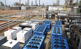 Temporary process cooling equipment provides beneficial solutions for chemical processing plant challenges.