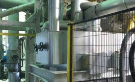 Insulated APV hybrid heat exchanger for Bitumen cooling using thermal oil