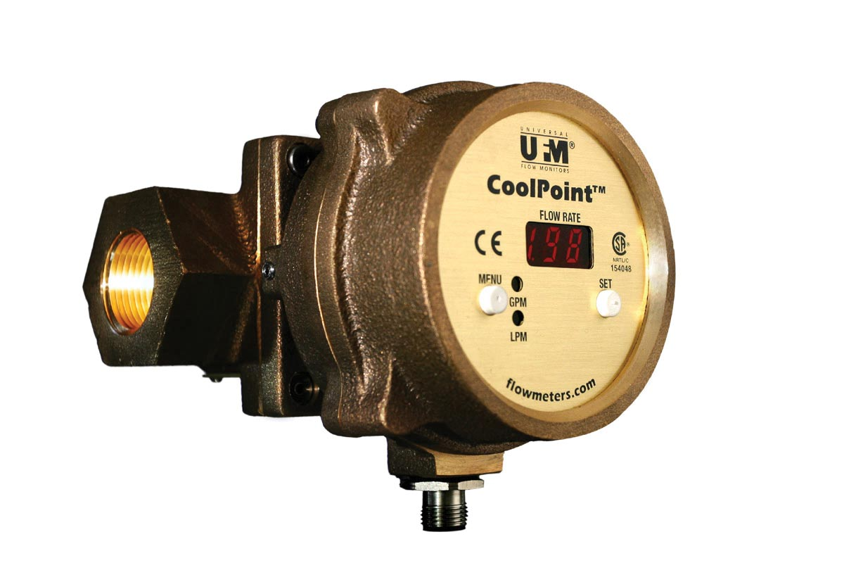Flowmeter Designed for Coolant or Water Flow