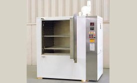 Class 100 Cleanroom Cabinet Oven Dries Coatings on Circuit Boards
