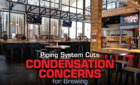 Piping System Cuts Condensation Concerns for Brewing