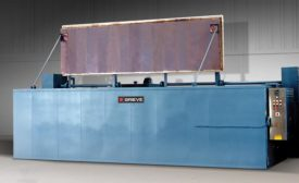 Top-Loading Oven Used to For Curing Composite Materials in Molds