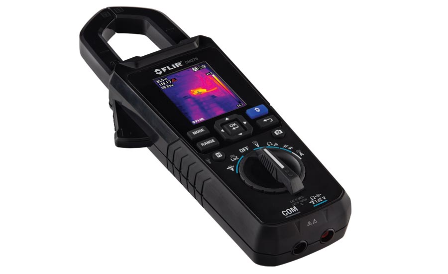 Electrical Test and Measurement Meters with Thermal Imaging