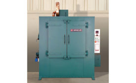 High temperature, horizontal-airflow cabinet oven from Grieve Corp.