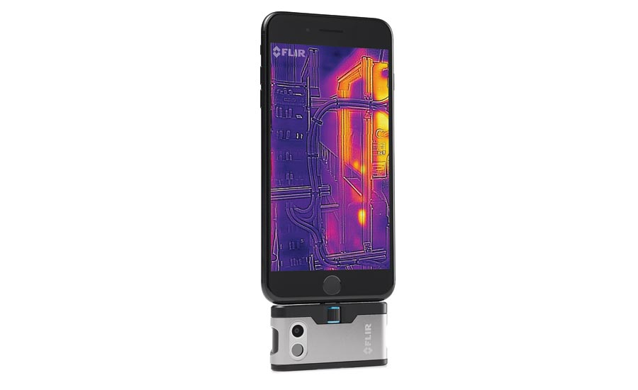 Thermal-Imaging Cameras for Smartphones and Tablets