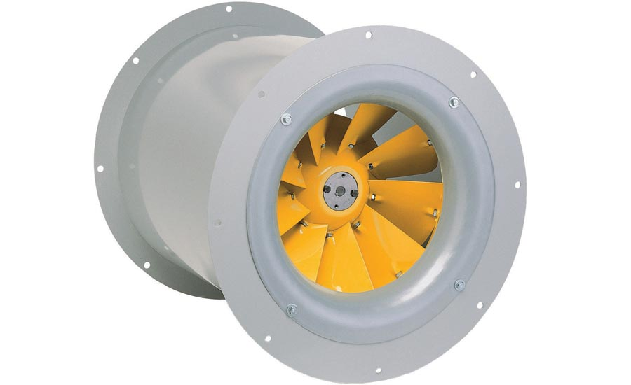 Mixed-Flow Inline Fans