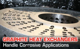 Graphite Heat Exchangers Handle Corrosive Applications