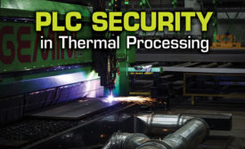 PLC Security in Thermal Processing