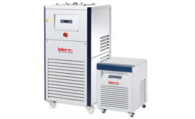 Recirculating coolers for constant temperature control from Huber USA.