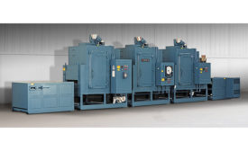 3-Zone Conveyor Oven Designed to Cure Coatings