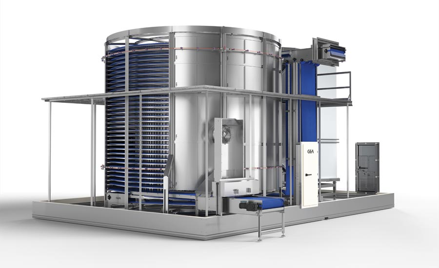 Freezer and Chiller for Food Processing