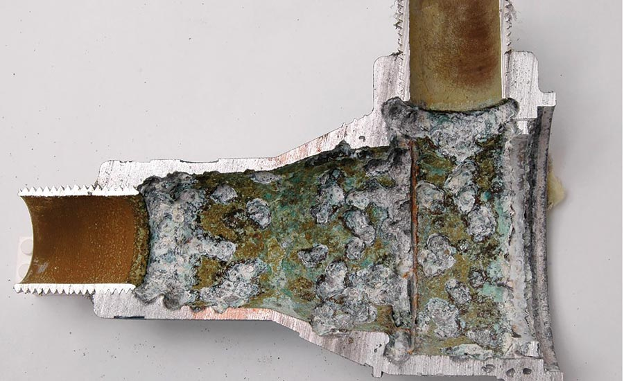 microbiologically induced corrosion