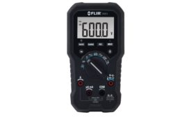 TRMS Digital Multimeter with Temperature Measurement
