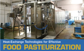 Some pasteurization systems allow the heating-holding-cooling cycle to be adjusted.