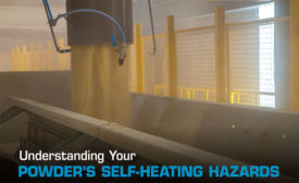 Safety Powder Self-heating hazards