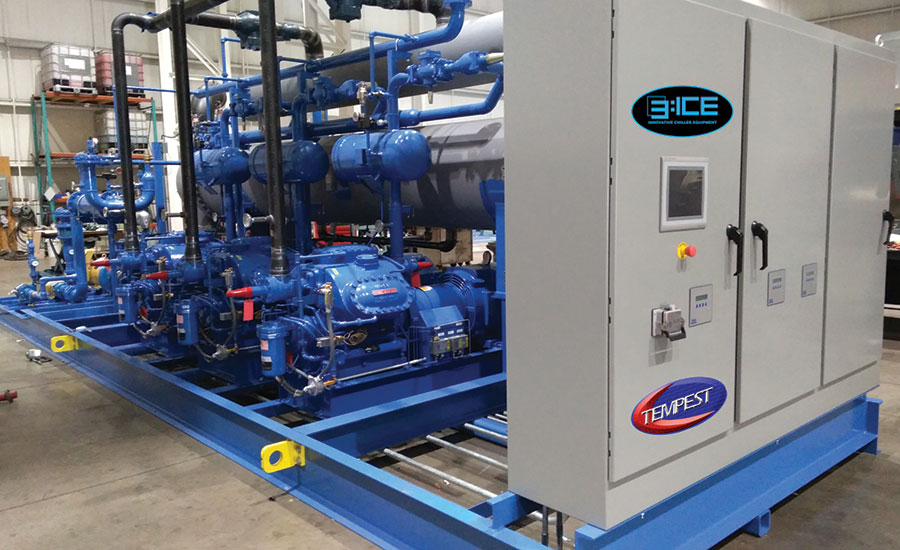 Chiller Equipment Rejects Heat from Industrial Processes