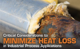 Water is highly thermally conductive, and when an insulation system becomes saturated, corrosion under insulation can occur.