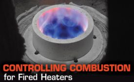 Combustion fired heaters