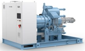New ammonia chiller from GEA.