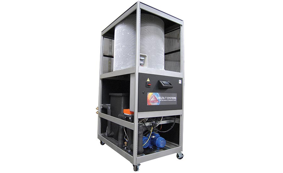 Combination Process Heater and Chiller Unit