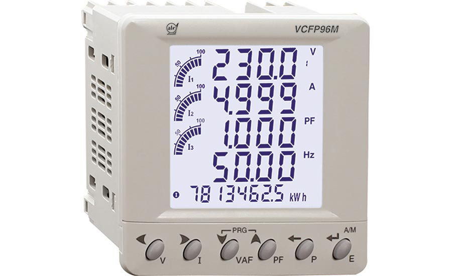 Multifunction Meter Reads Multiple Electrical Systems