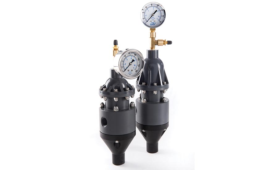 Chemical feed dampeners from Griffco Valve Inc.