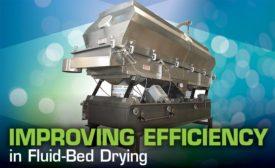 Fluid-bed dryers