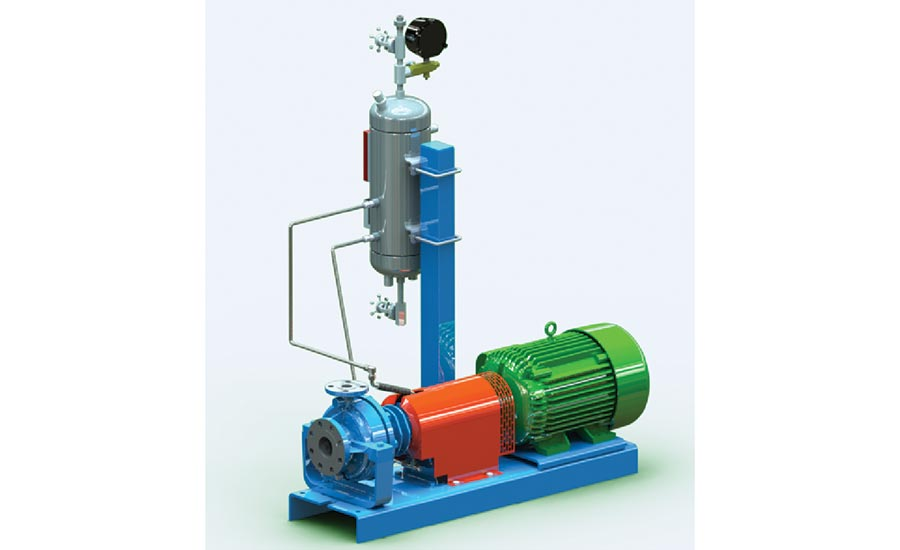 Air-cooled pump from Ceco Environmental, Dean Pump.