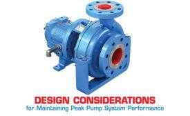 proper pump design