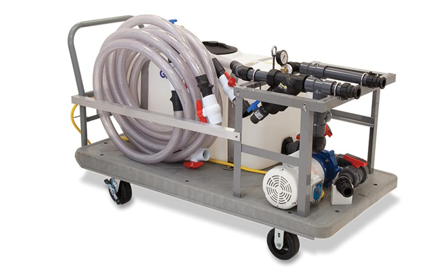 Industrial descaling system from Goodway.