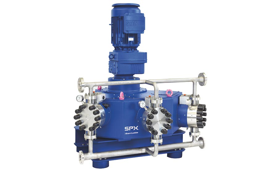 Process pumps by SPX Flow, Bran+Luebbe