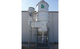 Packaged Venturi scrubbers from Bionomic Industries Inc.