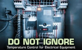 Temperature control in electrical enclosures