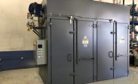Custom drying/curing oven from Benko Products Inc.