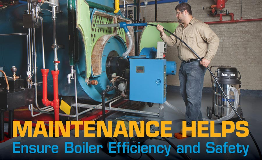 Boiler cleaning is part of a responsible maintenance program.