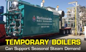 trailer-mounted watertube boiler