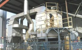 Continuous, rotary tray dryer from Wyssmont.