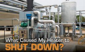 heater shutdowns