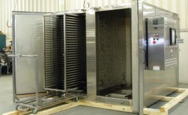 Truck-loading cleanroom oven from Grieve Corp.