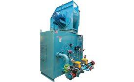 Forced-draft industrial burner from Webster Combustion Technology LLC.