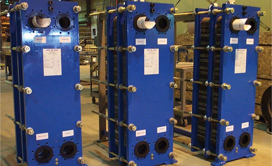 Plate-and-frame heat exchangers
