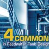 Feedwater tank design and operation