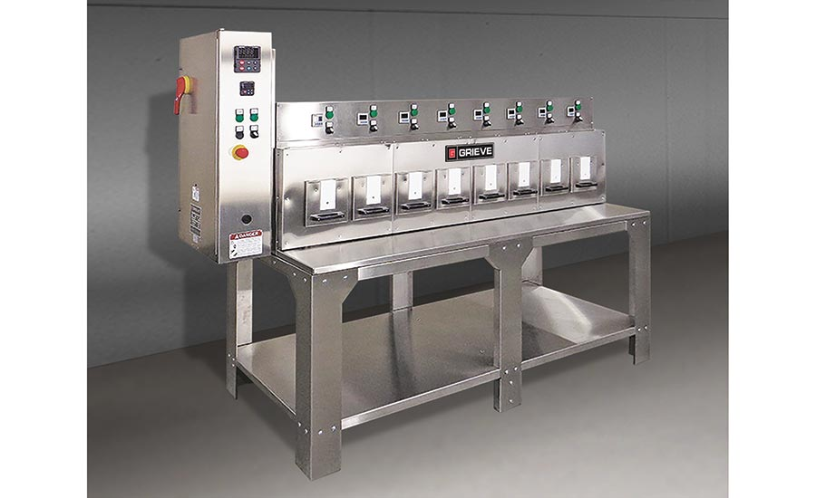 Bench oven from Grieve Corp.