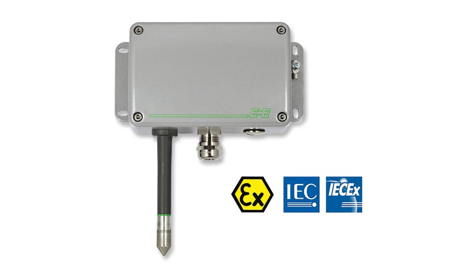 Humidity and temperature sensor from E+E Elektronik.