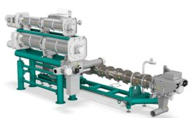 Multifunctional single-screw extruder from Bühler Inc.